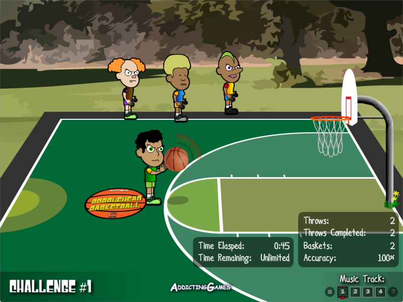 Bobblehead Basketball - Customized Game UI